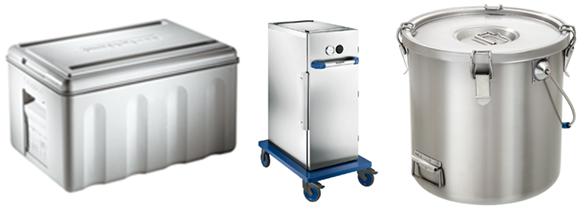 Thermotransportboxen für die Gastronomie